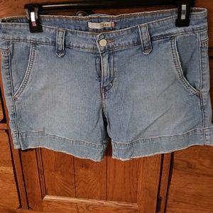 Women's Levi's denim shorts, size 10